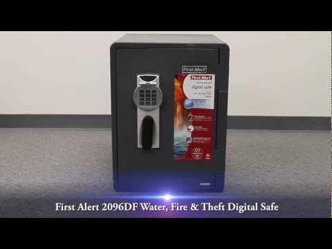 First Alert 2096DF Water, Fire & Theft Digital Safe