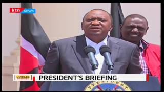 President Uhuru Kenyatta has apologised to Kenyans for the sheer scale of Jubilee primaries turnout