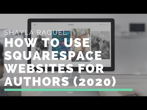 How to Use Squarespace Websites for Authors (2020)