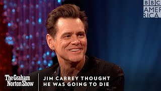 Jim Carrey Thought He Was Going To Die | The Graham Norton Show | Friday @ 11pm | BBC America