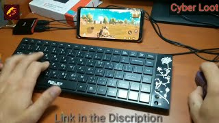 how to play pubg mobile on android with keyboard and mouse without