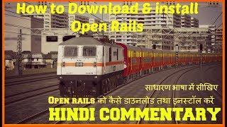 How to install Indian route in open rail without msts - Most Popular
