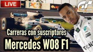 🔴 Directo de Gran Turismo Sport - Carreras con Mercedes F1 W08 | Actualización 1.24