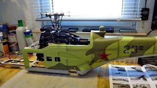 Teil 3 RC Projekt Mil Mi-24 Hind , Vorgedanken Probleme Idee , kann ich das so machen ??? *HD*