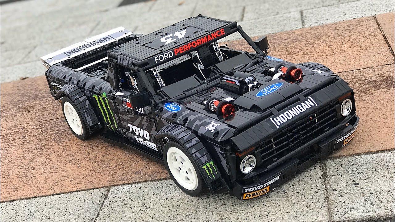 Ford F150 Hoonitruck - Lego Technic MOC