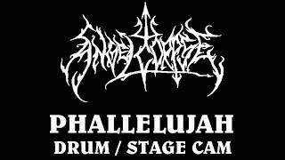 Angelcorpse Drum/Stage Cam , Phallelujah live