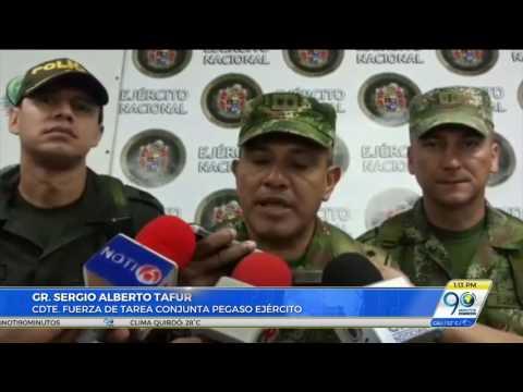 Autoridades capturaron a seis disidentes de las Farc en Policarpa, Nariño