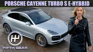 Porsche Cayenne Turbo S E-Hybrid Coupe Walkaround | Fifth Gear by Fifth Gear