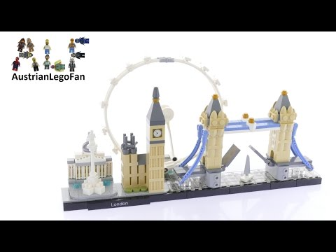 Vidéo LEGO Architecture 21034 : Londres