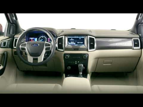 2015 Ford Everest - B-roll video