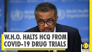W.H.O halts trial of HIV drugs from COVID-19 treatment | World News | WION