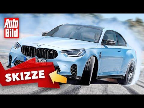 BMW M2 (2022): Skizze - Coupé - Motor - Marktstart - Design - Info