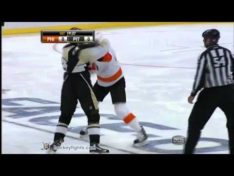 Jody Shelley vs Deryk Engelland