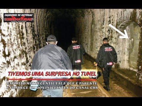 Espírito diz ser parente de integrante CHS - voltamos ao túnel abandonado.