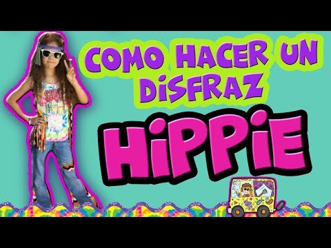 Como hacer un Disfraz de Hippie Fácil