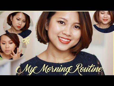 My Morning Routine / Dưỡng Da & Makeup Buổi Sáng