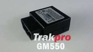 Trakpro GM550 Plug & Play OBDII Tracking Device