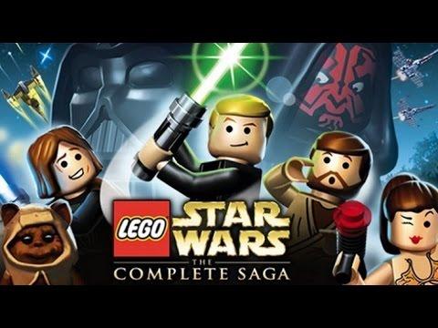 LEGO Star Wars: The Complete Saga All Cutscenes (Game Movie) 1080p HD