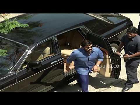 Look at Chiranjeevi's Rolls Royce Car - Gulte.com