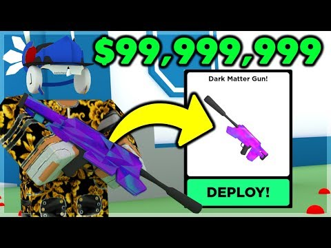 BUYING The DARK MATTER GUN For $99,999,999 And It's OP   Big Paintball (ROBLOX)