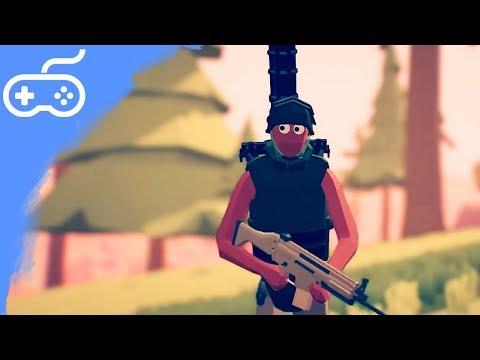 PARODIE NA PUBG! - Totally Accurate Battlegrounds