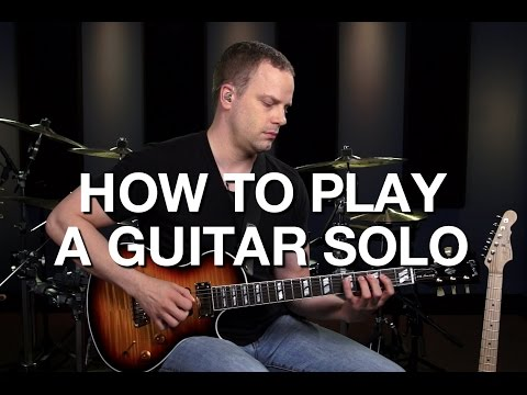 How To Play A Guitar Solo - Lead Guitar Lesson #9