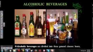 Alcoholic Beverages Introduction