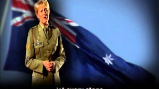 Australian National Anthem - soloist, performance, lyrics, one verse