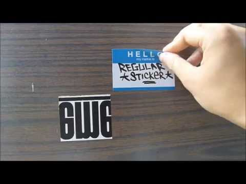 Egg Shell Sticker Wooden Panel Test