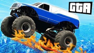 TRIALS IN A MONSTER TRUCK | GTA 5 Races
