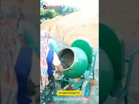 Cement Concrete Half Bag Mixer