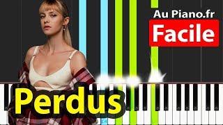 Angèle   Perdus Piano Facile Paroles