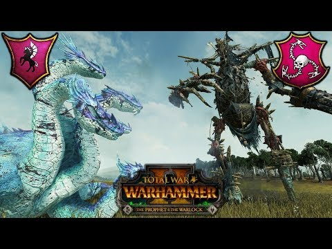 HAIL HYDRA and the QUEEN BESS - Trials of Tzeentch - Total War Warhammer 2