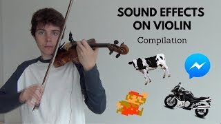 Sound Effects on Violin | Compilation