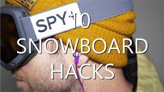 #8 Snownoard begginer – Snowboard hacks