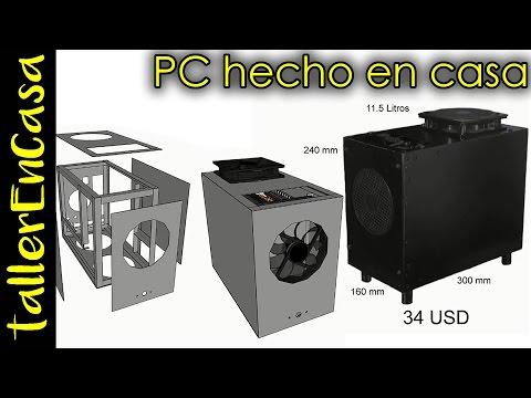 Computador / ordenador / gabinete / torre / pc hecho en casa (viejas tomas)