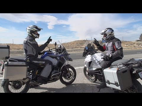 BMW R1200GS Adventure vs. KTM 1290 Super Adventure | ON TWO WHEELS