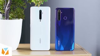 OPPO Reno2 F vs Realme 5 Pro Comparison Review