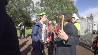 Передача Кураеву Евангелие Летающего Макаронного Монстра