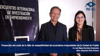 Proyección del costo de la falta de competitividad del ecosistema emprendedor de la Ciudad de Puebla