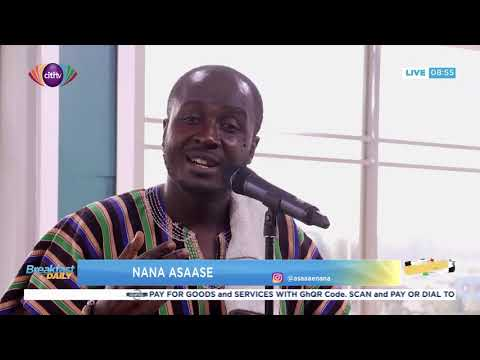 Nana Asaase performs on Breakfast Daily