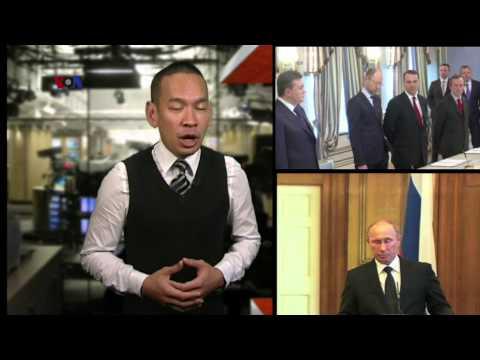 AS vs Rusia Menyikapi Krisis Ukraina - Liputan Berita VOA 25 Februari 2014