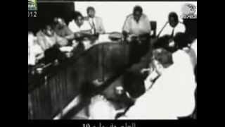 بيان هاشم العطا الاول بعد انقلاب 19 يوليو 1971