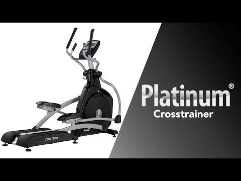 Promovideo: Eliptický trenažér TUNTURI PLATINUM Crosstrainer PRO