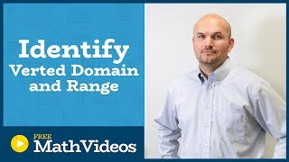 MASTER how to find the vertex and determine domain and range of a quadratic in vertex form