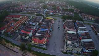GOOD MORNING SEGAMAT .MY HUBSAN X4 AIR DRONE FIRST FLY