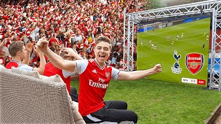 Recreating Spurs v Arsenal Match Day in 2020
