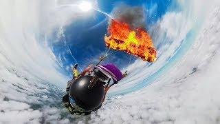 GoPro Awards: Fusion Parachute Burn in 4K