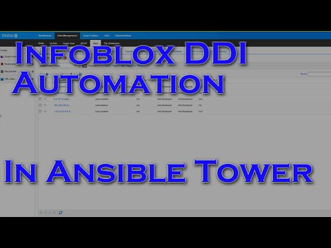 Automating Infoblox DDI With The Ansible Automation Platform