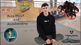Beta 95x V3 and Skateboarding | Reelsteady Go | Naked GoPro 6